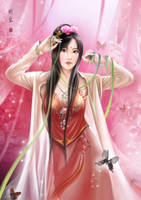 Chinese girl by hiliuyun
