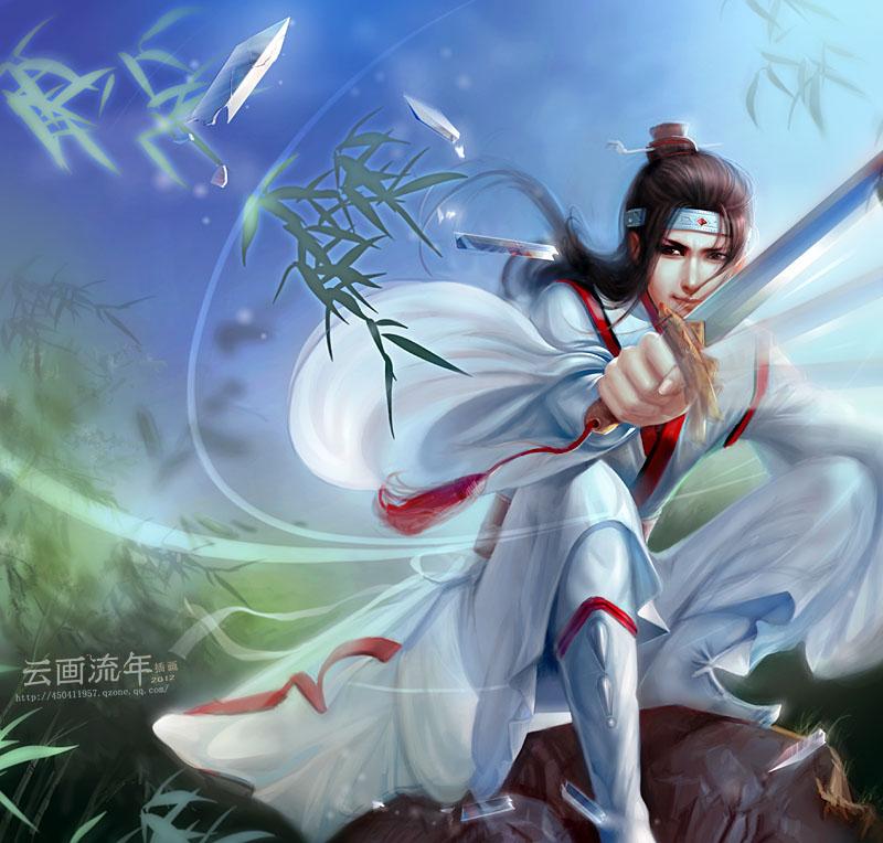 wuxia by hiliuyun