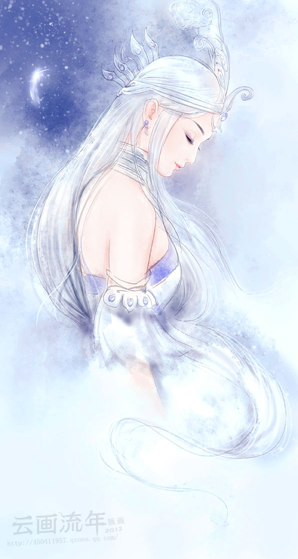 qins moon by hiliuyun