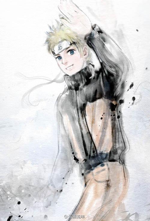 Naruto by hiliuyun