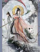The fairy by hiliuyun