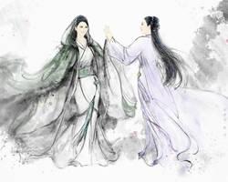 yun zhong ge vs  hua qian gu by hiliuyun
