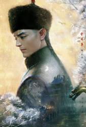 Emperor qianlong 2 Wallace Huo by hiliuyun