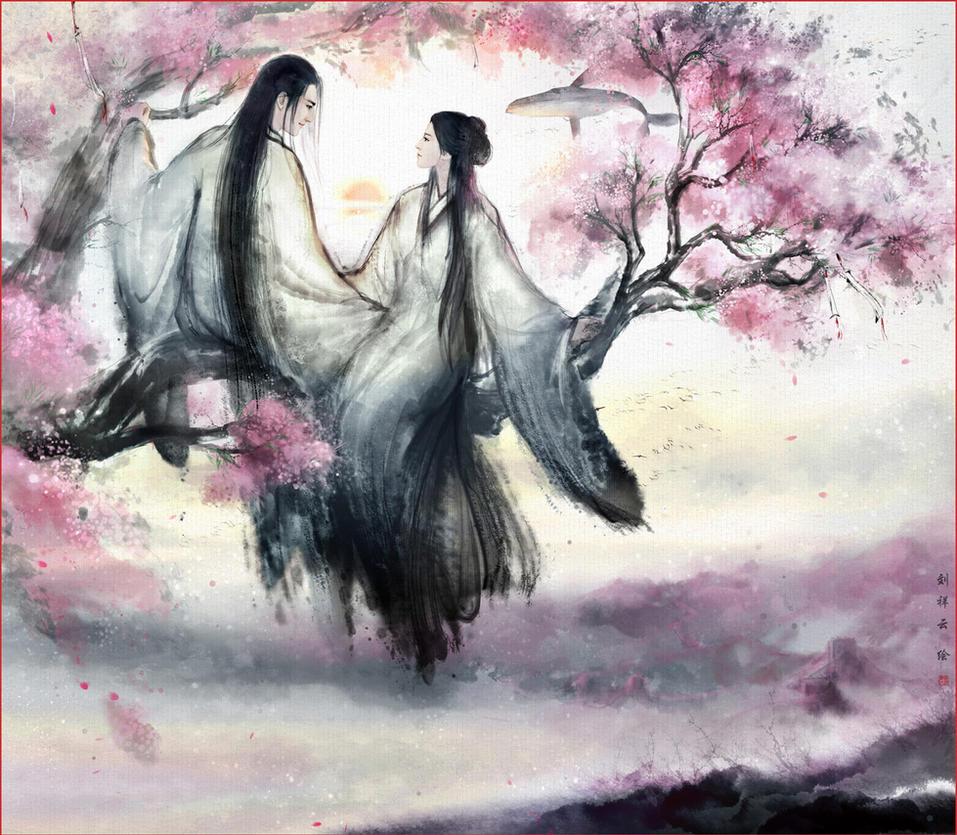 Three lives three times a peach blossom by hiliuyun