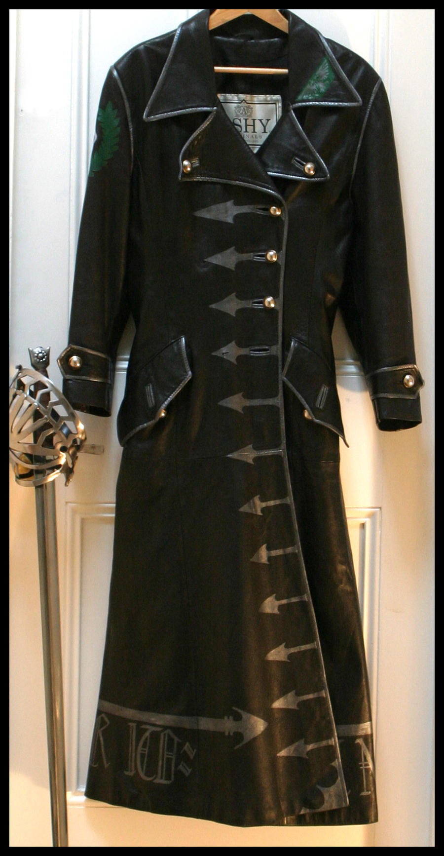 Warhammer 40K officer's coat by wraithwitch