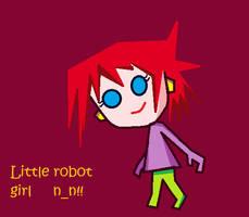 little robot by Alptraumkrieger