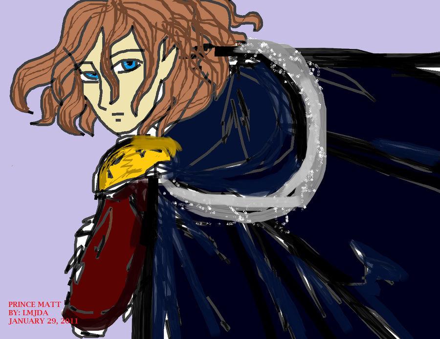 Prince Matt OC by Alptraumkrieger