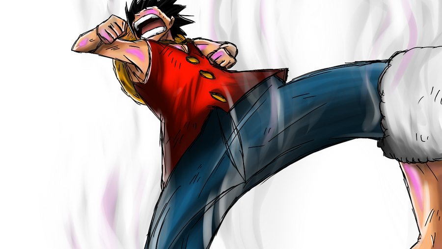 Luffy Gear 2 by Sunny-berry