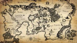 Visionary Universe: World Map