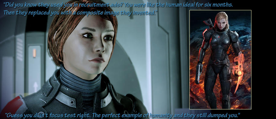 Original Femshep and a pretender