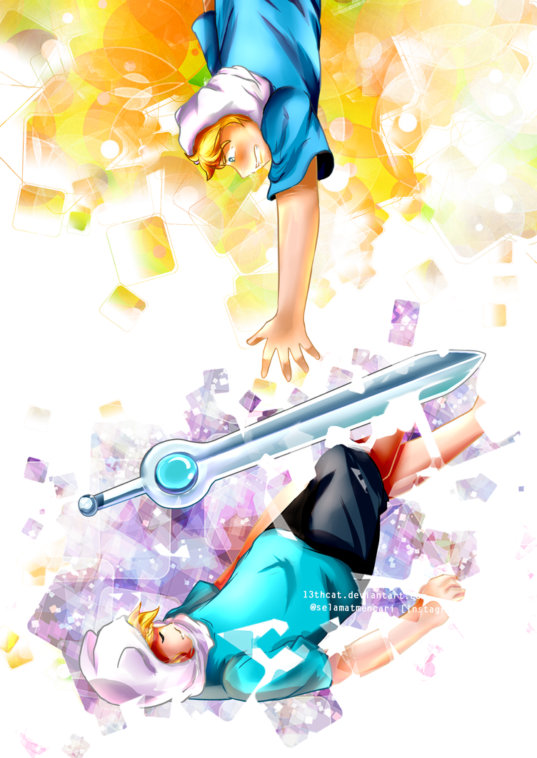 Adventure Time - Finn Sword by 13th-Cat