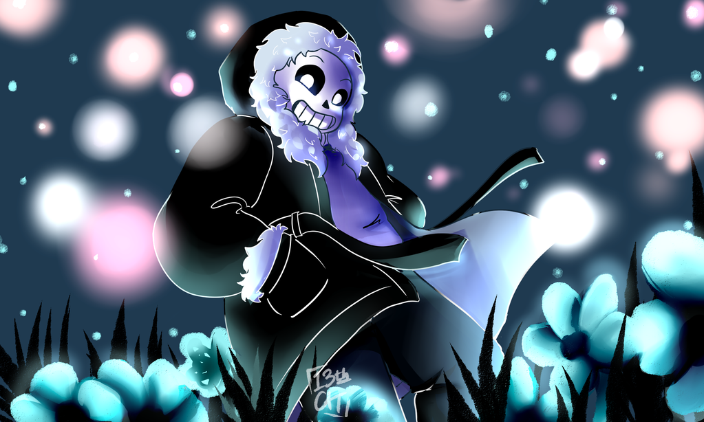 Undertale - Sans of Time and Space by 13th-Cat