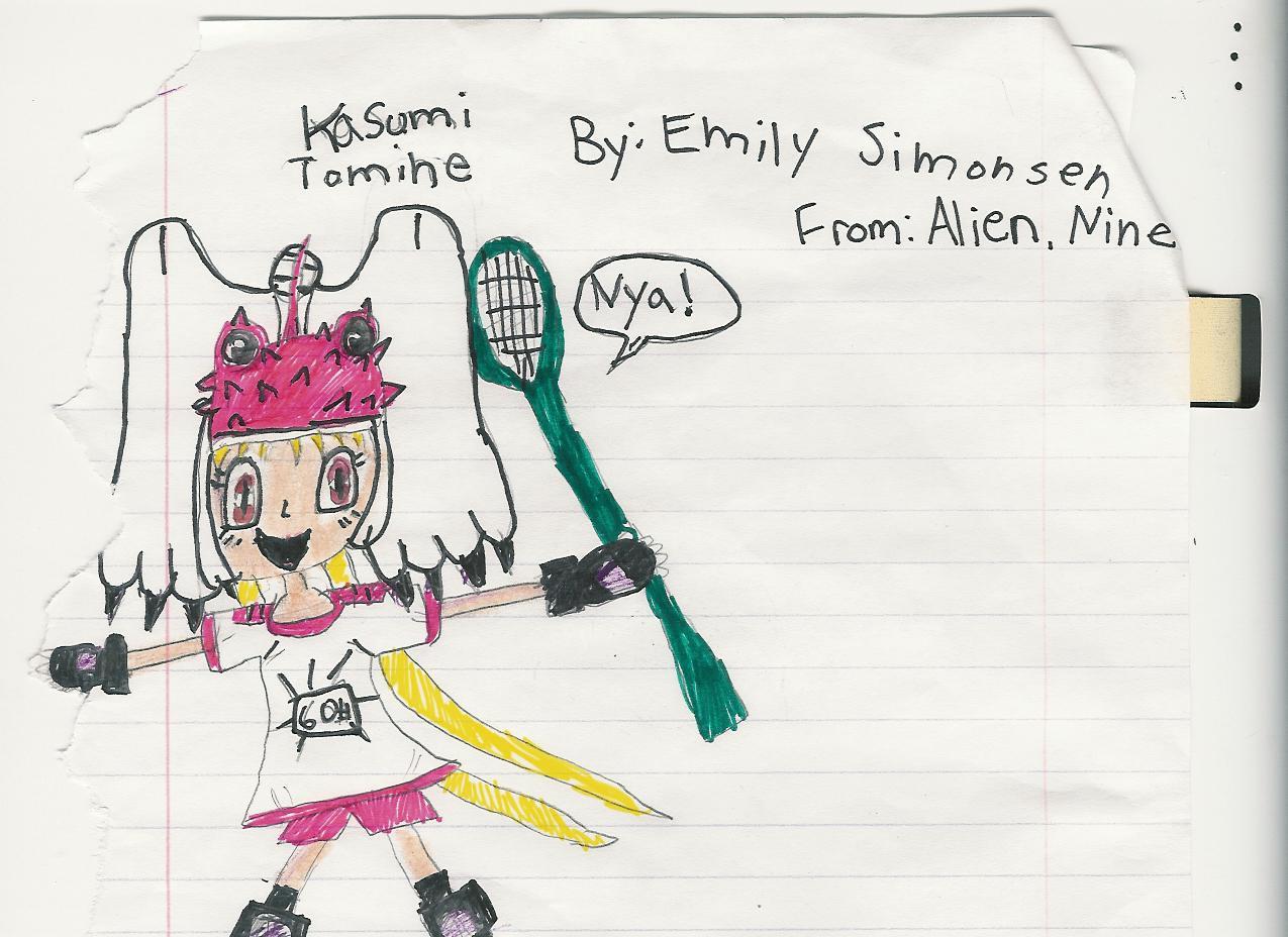 Kasumi Tomine by ChocohedgehogClub