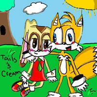 Tails and Cream by ChocohedgehogClub