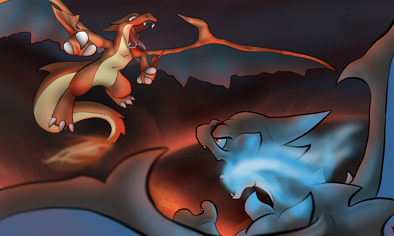 Mega Charizard Y Vs X