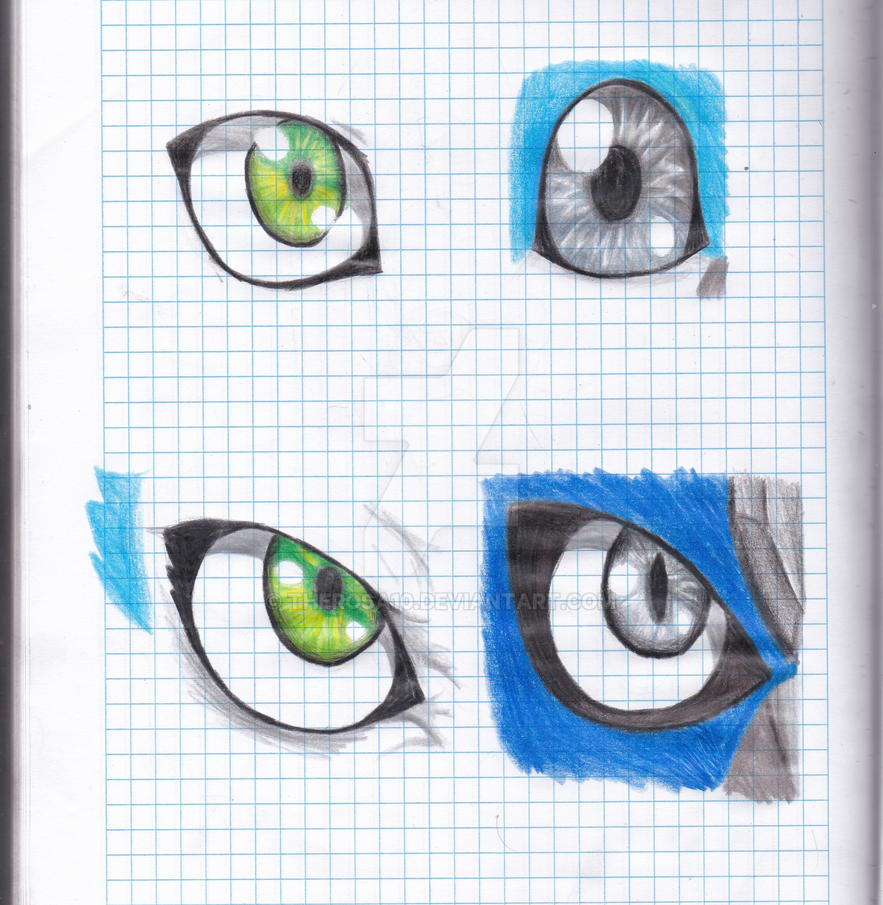 Artromon, Cismimon eyes by therosa10