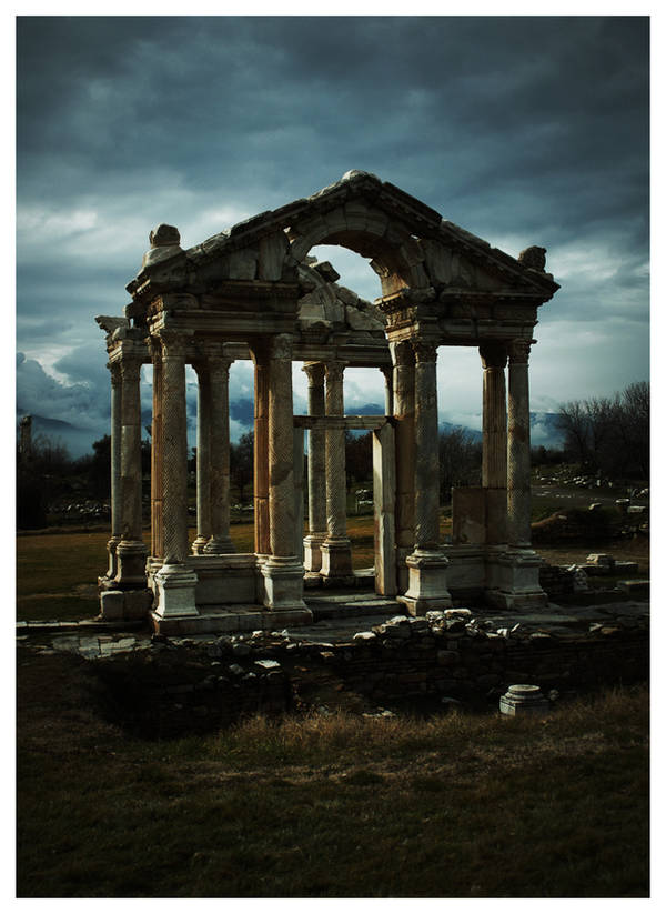 Temple of Aphrodisias by tom2strobl