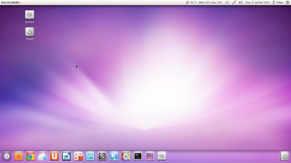 December Desktop by Felipi