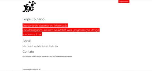 New Website by Felipi