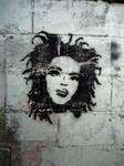 Lauryn Hill Stencil by jojo10718