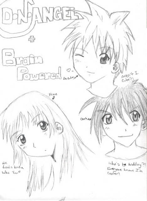 D.N.Angel and Brain Powered by PraiseYukiruSugisaki