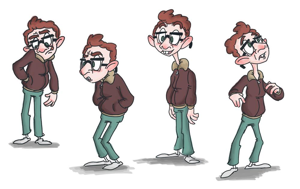 9 Most Annoying Cartoon Characters : Cartoon nerd characters pixshark images