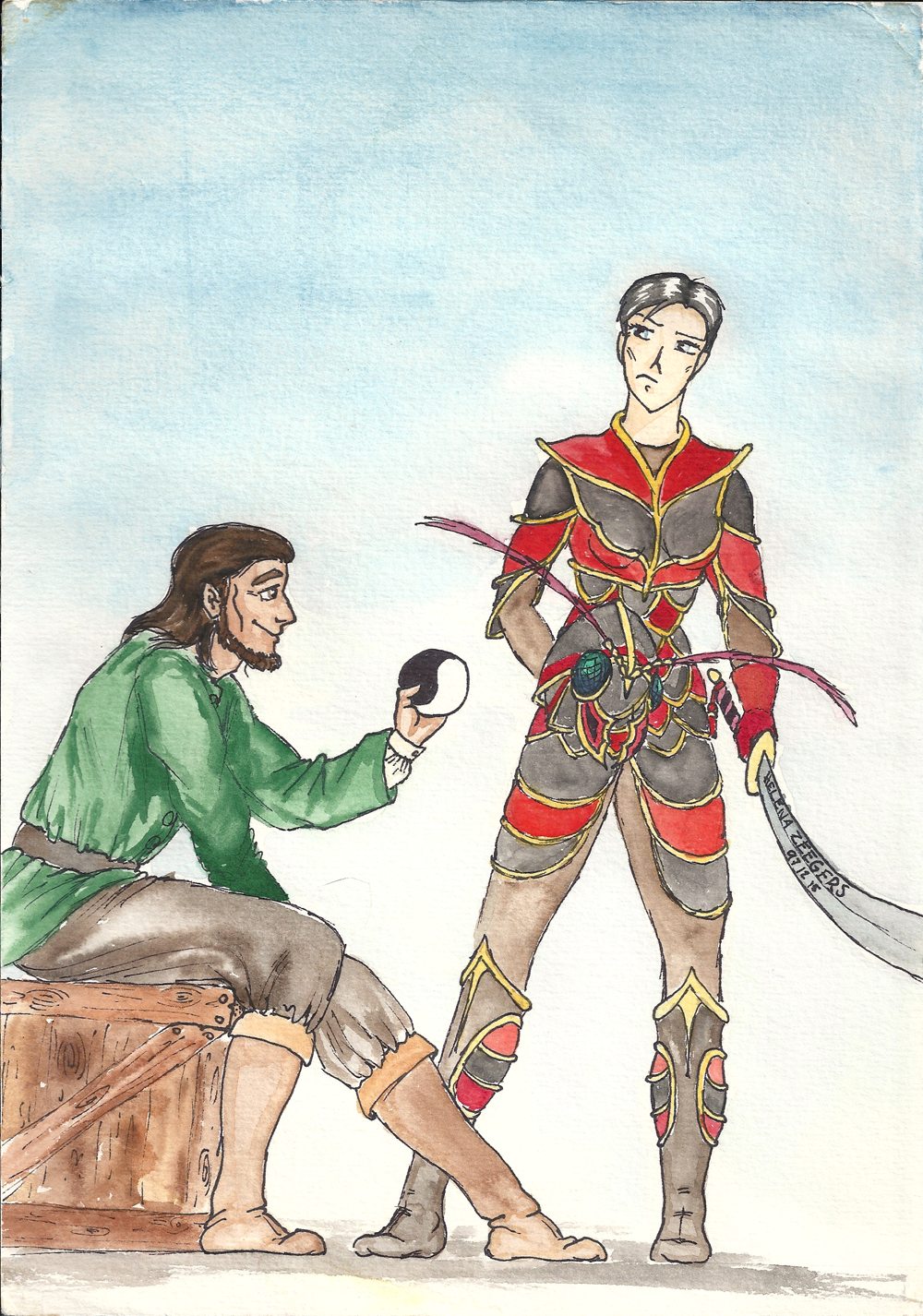 Egeanin and bayle domon by coplins on deviantart for Domon the wheel of time