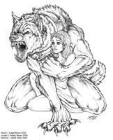 Gloria's Dog by Emryswolf