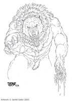 Werebitch by Emryswolf