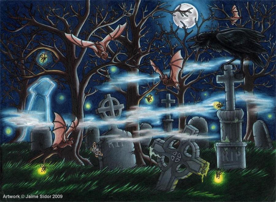 life goes on in the graveyard by emryswolf on deviantart. Black Bedroom Furniture Sets. Home Design Ideas