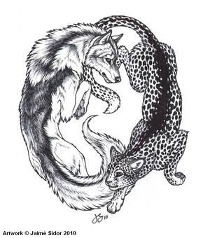 Wolf meets Cat