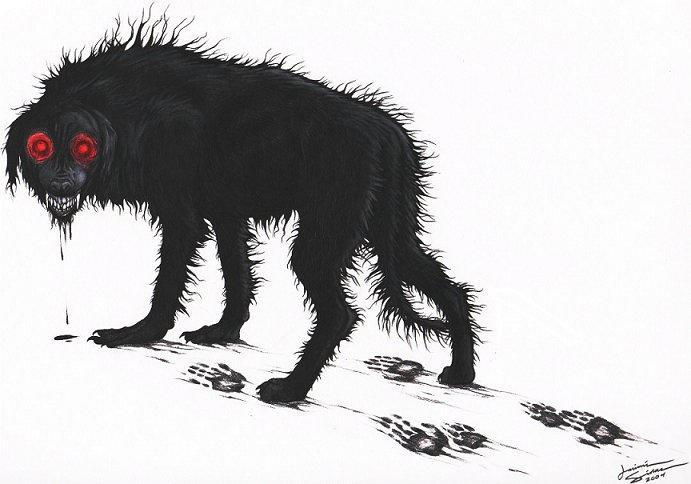 Black Dog by Emryswolf