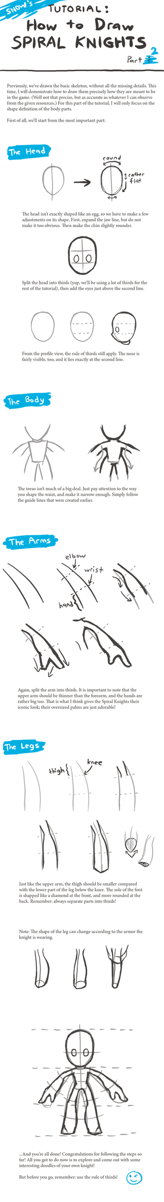 How to Draw Spiral Knights! - Part 2 by snowcube94