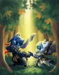 Spiral Knights - AlinaFoxglove Art Trade