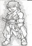 Gnome Gunslinger by Redmonkey-Da