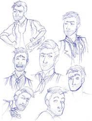 Booker DeWitt Sketches
