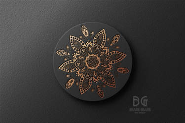 Mandala Logo by blueglue69