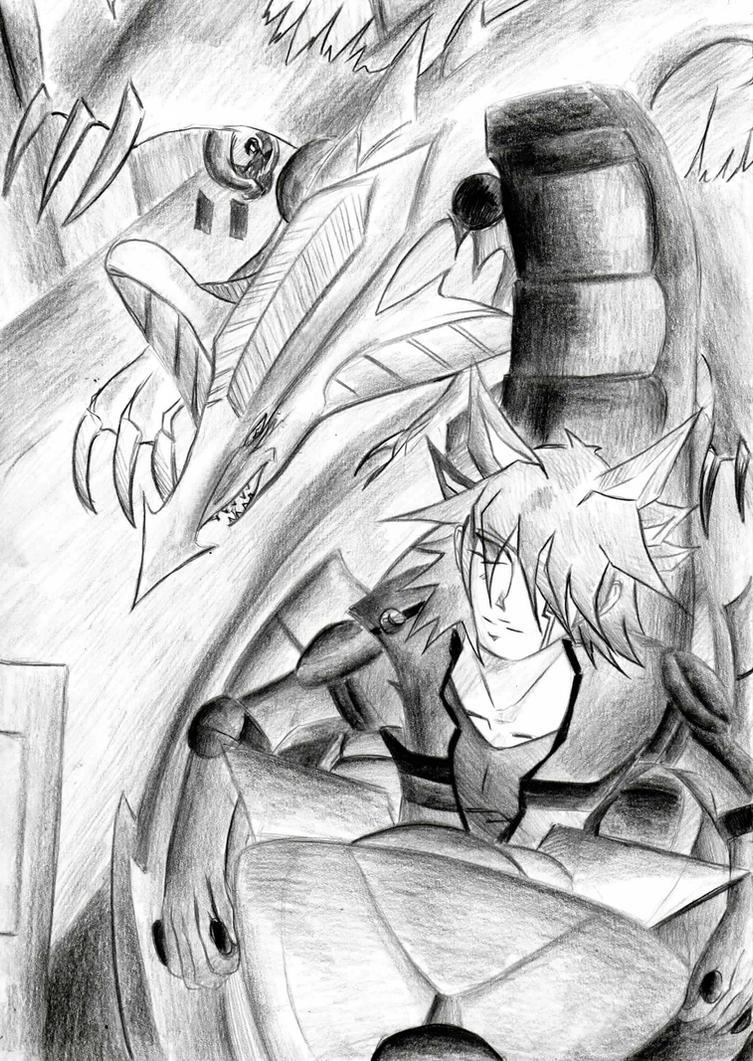 final duel yusei vs. jack by IsakiYukihara