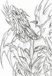 ancient themple dragon by IsakiYukihara
