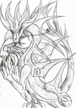 ancient sun dragon