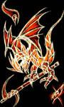 Gothic dragon by IsakiYukihara