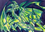 Dragon Drawing 2 by IsakiYukihara