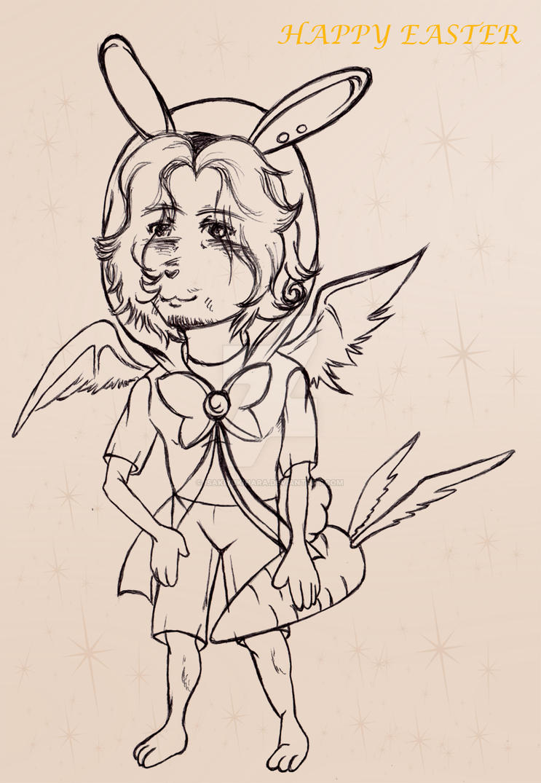 Bunny Chibi by IsakiYukihara