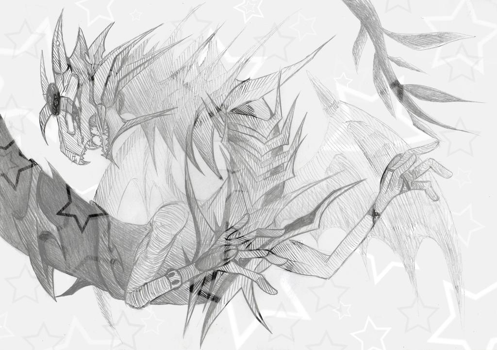 Another Dragon Doodle ^ ~ ^ by IsakiYukihara