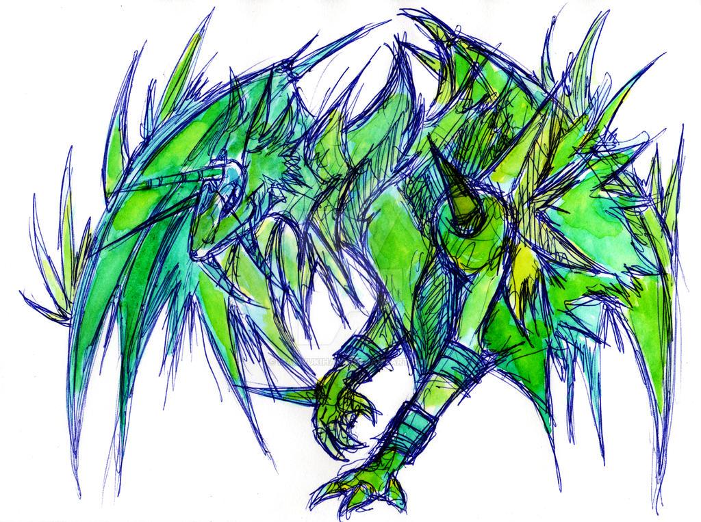 Dragon Doodle :D by IsakiYukihara