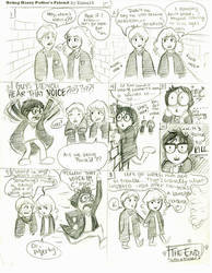 Being Harry Potter's Friend by Kumu18