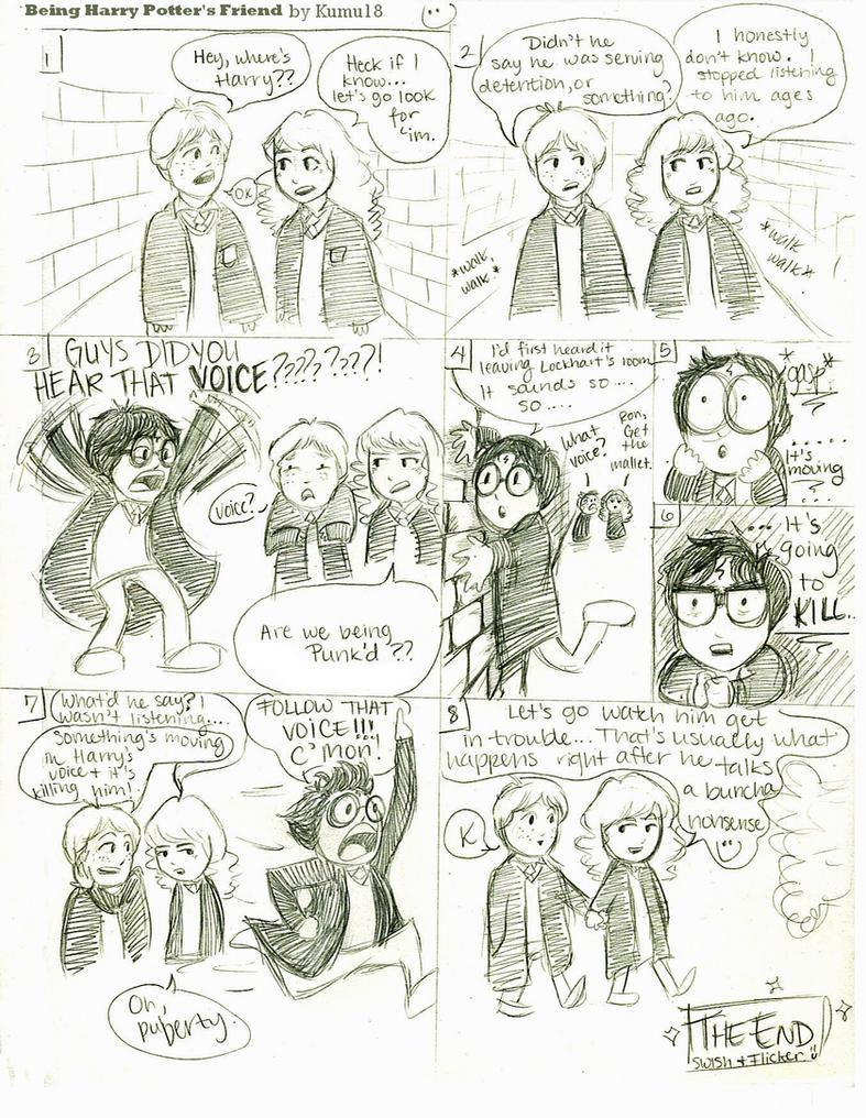 Being Harry Potter's Friend by Kumu18