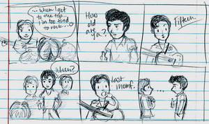 Nowhere Boy Comic