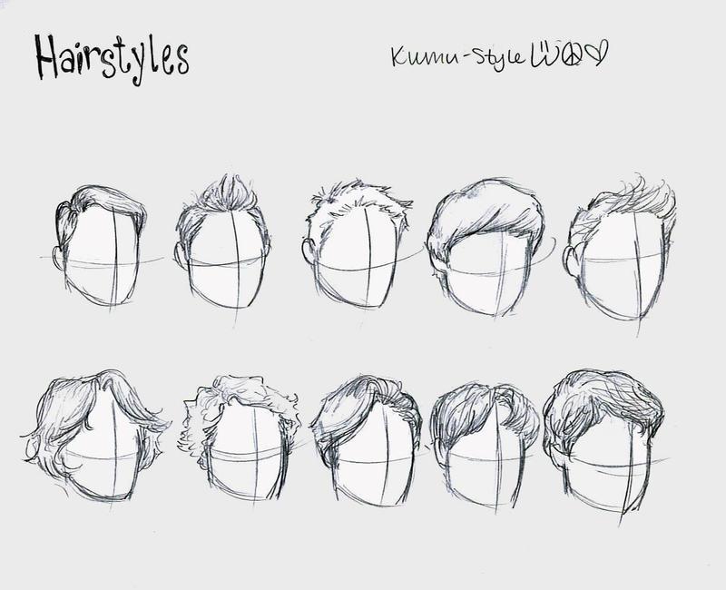 Hairstyles 2 By Kumu18 On Deviantart