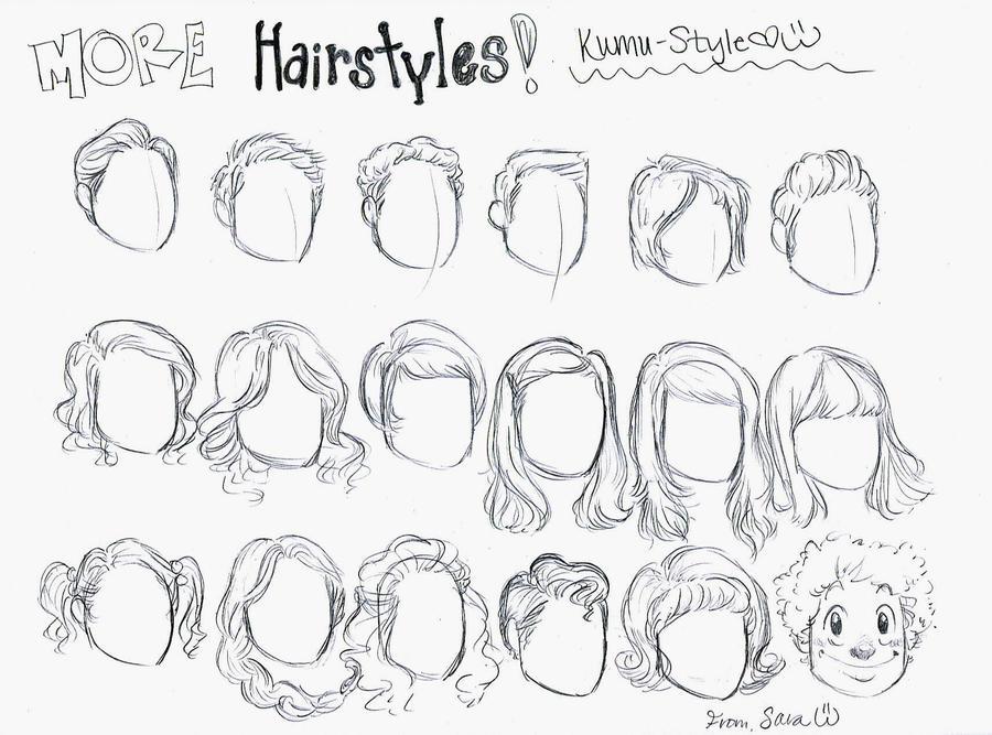 Hairstyles 3 by Kumu18